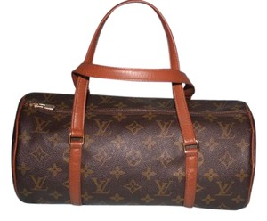 Louis Vuitton Lv Vintage Papillon Satchel Shoulder Bag