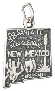 unknown STERLING SILVER ANTIQUED NEW MEXICO STATE CHARM