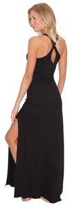 Black Maxi Dress by Beyond Yoga Maxi Crisscross Strap