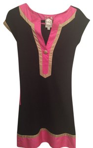 Yoana Baraschi short dress Black and pink on Tradesy
