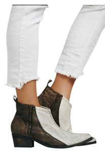 Free People white, gray, brown Boots