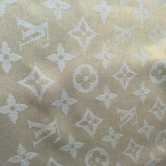 Louis Vuitton LOUIS VUITTON MONOGRAM SHINE SHAWL SCARF Special Edition RARE METAL YARN