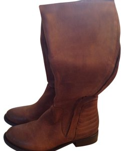 Steve Madden Knee Leather Light brown Boots