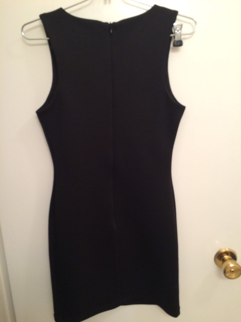 Forever 21 short dress BLACK AND SILVER on Tradesy