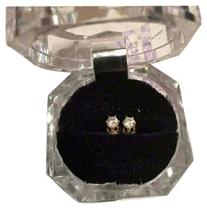 Kay Jewelers 1/2 Carat Diamond Round Stud Earrings in 14K Yellow Gold