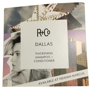 R+Co Dallas R+Co Dallas Thickening Shampoo & Thickening Conditioner Sample Packets X 5