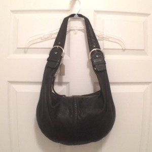 Coach Leather Hippie Hobo Bag