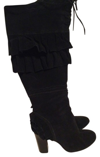 Other black suede Boots