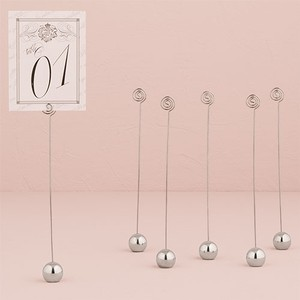 WeddingStar Inc. Silver Table Number Holders 24 Tableware