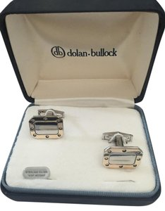 dolan-bullock Dolan-Bullock Cufflinks, sterling silver and 14 kt Accent