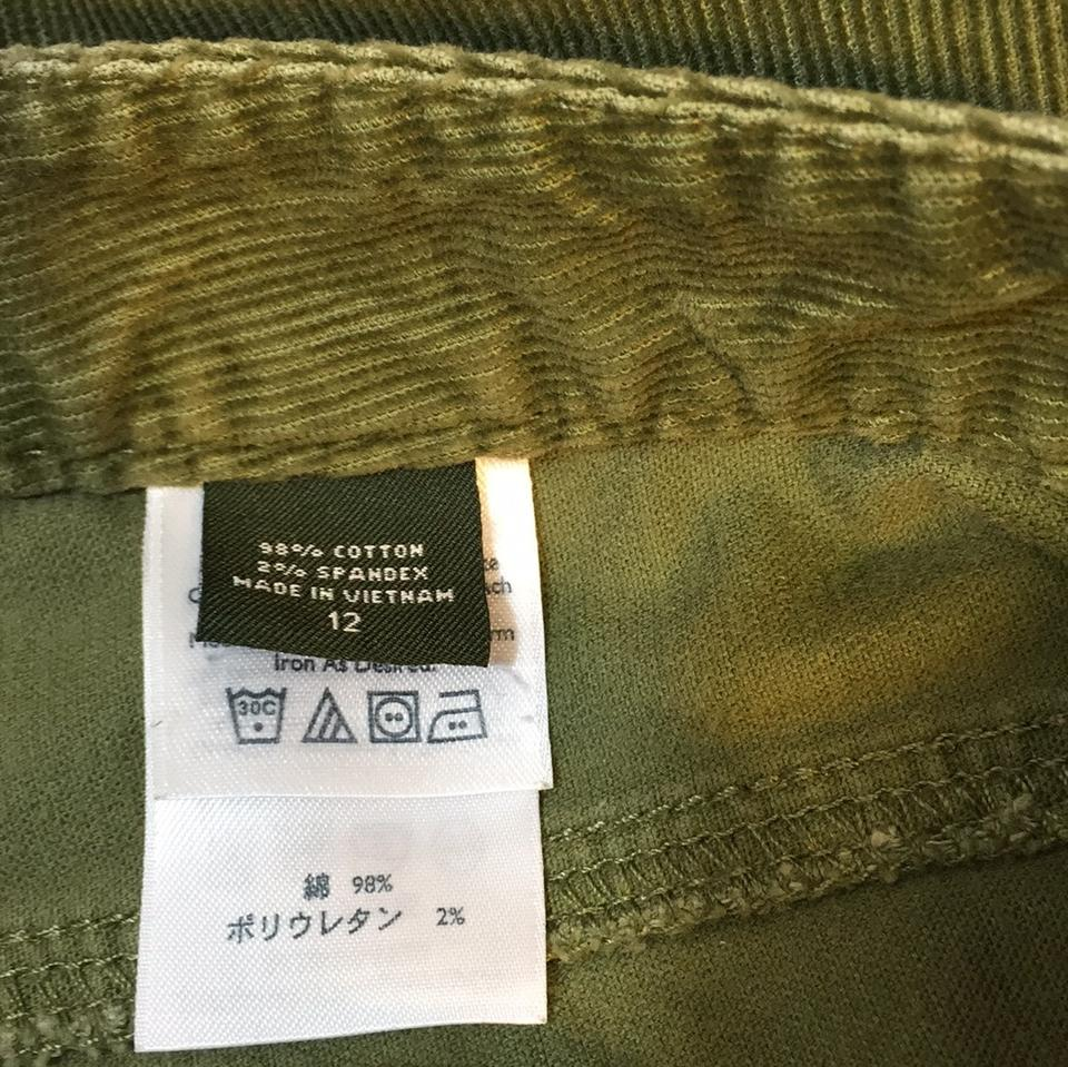 Eddie Bauer Olive Green 0379 Boot Cut Jeans Size 34 (12, L) - Tradesy