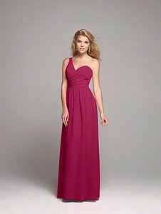Alfred Angelo Claret Dress