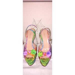 Charlotte Olympia Multi Color Platforms