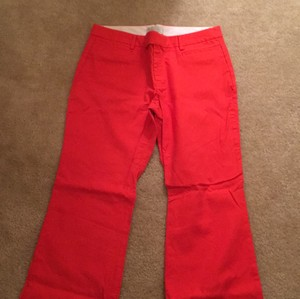 Gap Boot Cut Pants Red