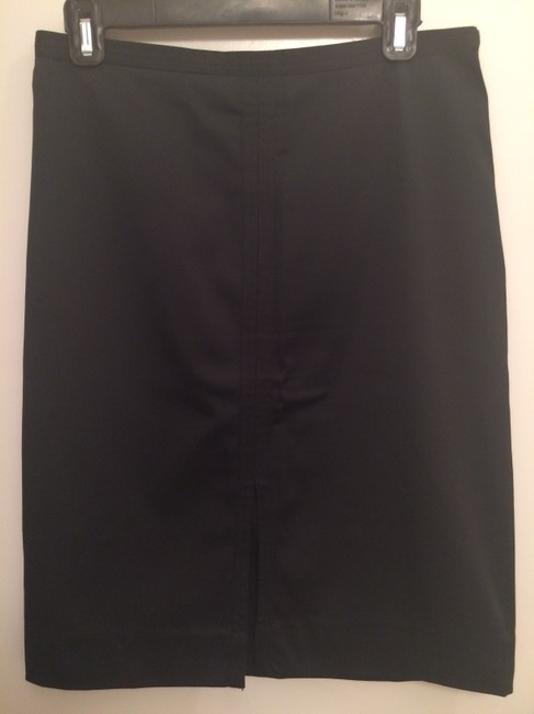 Mossimo Supply Co. Skirt Black Satin Like