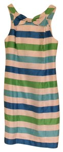 Lilly Pulitzer short dress White, green, and blue on Tradesy