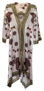 Cream Maxi Dress by Rubber Ducky Productions, Inc. Bohemian