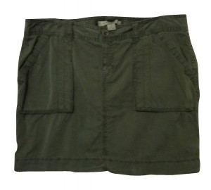 Old Navy Skirt Army Green