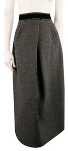 Marc Jacobs Texture Raw Edge Pleat Fall Skirt