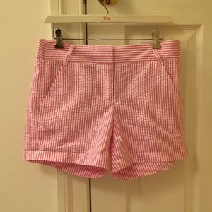 J.Crew Mini/Short Shorts Pink & white