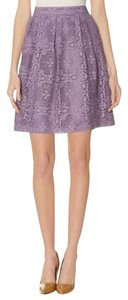 The Limited Lace Aline Skirt purple