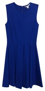 Diane von Furstenberg Knit A-line Pleated Dress