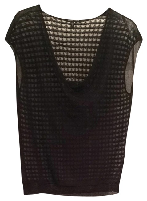 Eileen Fisher Waffle Sleeveless Cowl Cowlneck Designer Elegant Fashion Professional Tunic