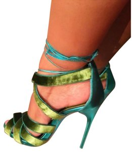 Tom Ford Green turquoise Sandals
