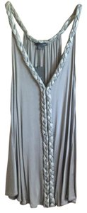 A|X Armani Exchange Date Night Flowy Top 2 Tone Gray