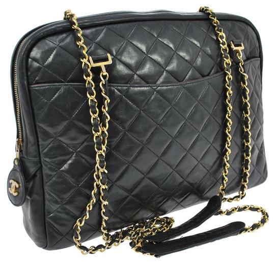 Preload https://item4.tradesy.com/images/chanel-large-quilted-black-lambskin-leather-shoulder-bag-1703318-0-0.jpg?width=440&height=440