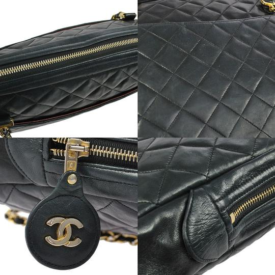 Chanel Lambskin Leather Jumbo Classic Shoulder Bag