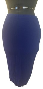 Mossimo Supply Co. Skirt Cobalt Blue
