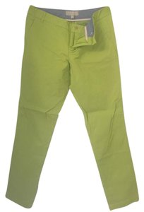 Banana Republic Capri/Cropped Pants Lime Green