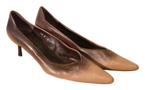 DKNY Brown/ tan Pumps