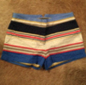 BCBGMAXAZRIA Mini/Short Shorts Multicolored