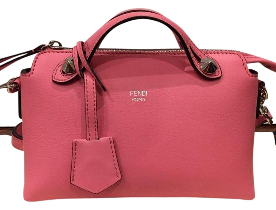 910ec40011 Fendi By The Way Mini Pink Leather Cross Body Bag - Tradesy