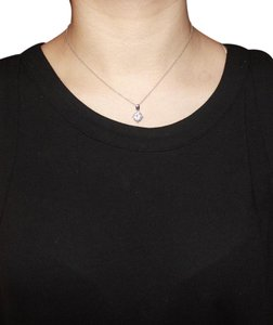 Express Simple Faux Diamond Necklace
