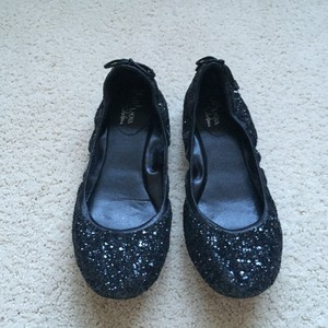 Cole Haan Black with Sparkle Flats