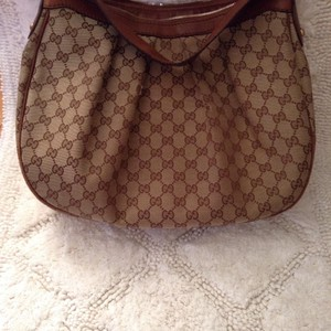 Gucci Satchel in Brown And Tan