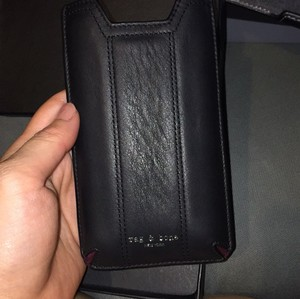 Rag & Bone Authentic Rag & Bone Black Leather Camden Phone Sleeve Case Iphone 5 6