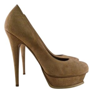 Saint Laurent Tribute nude Pumps