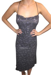 Cranfield Sequin Formal Silk Dress