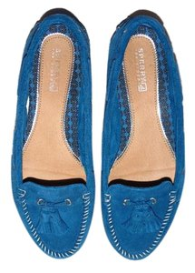 Sperry Sabrina Blue Flats