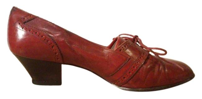 Item - Oxblood 624~5601 Platforms Size US 7.5 Regular (M, B)