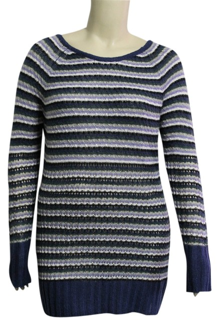 Preload https://item3.tradesy.com/images/nine-west-blue-multi-new-with-tags-misses-large-sweaterpullover-size-12-l-1703952-0-0.jpg?width=400&height=650
