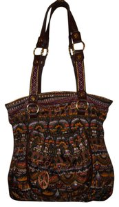 Sakroots Tote Hobo Peace Man Made Shoulder Bag