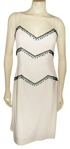 Rimini Designer Beads Special Occasions V Neck Beaded Spaghetti Straps Evening Night Out Dress