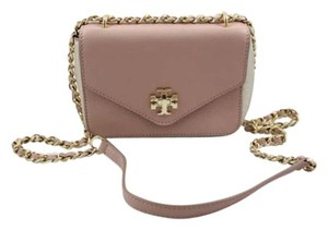 Tory Burch Pink Mini Chain Leather Kira Shoulder Bag