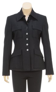 Akris Punto Black Womens Jean Jacket