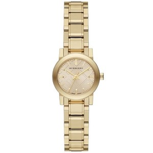 Burberry Burberry Classic Check BU9227 Gold Tone Stainless Bracelet Watch